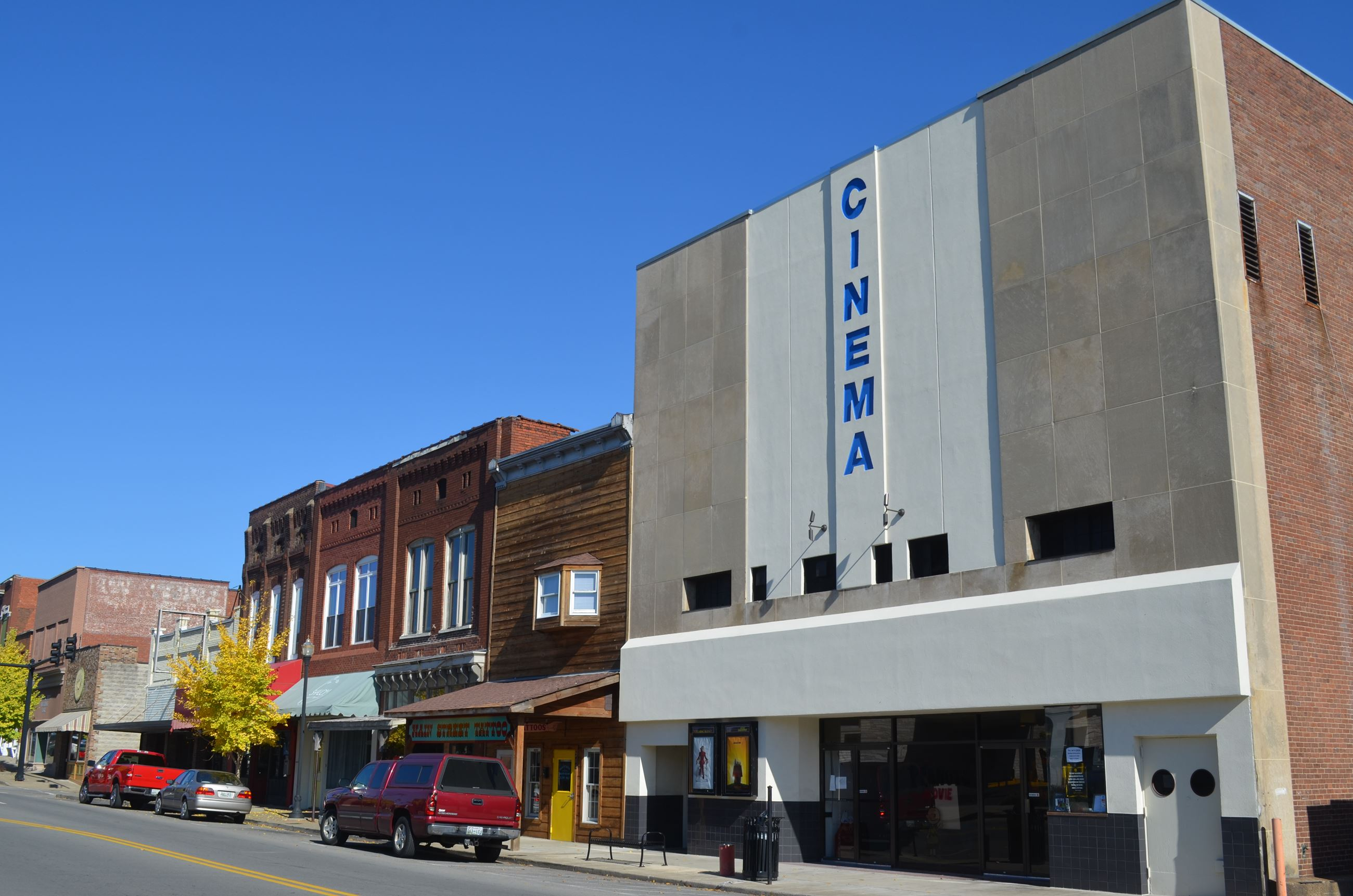 South Main view Cinema