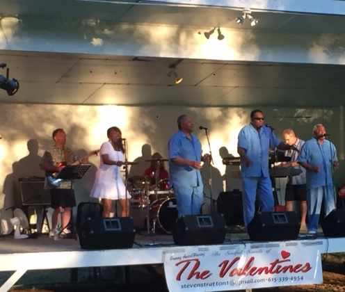 2015 Summer Concerts present The Valentine's