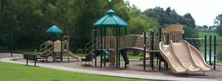 Playground, J. Travis Price Park near lake and picnic shelter 1