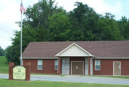 Post 48 Community Bldg., J. Travis Price Park, available for group rental, maximum capacity, 50